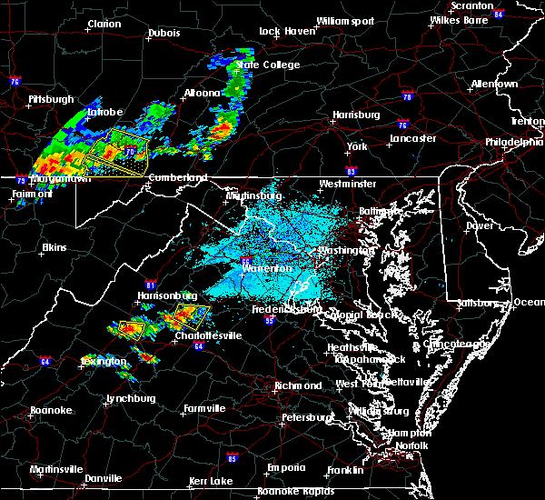 Radar Image for Severe Thunderstorms near New Hope, VA at 5/14/2018 2:55 PM EDT