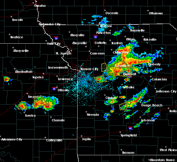 Radar Image for Severe Thunderstorms near Lake Lafayette, MO at 5/14/2018 2:44 PM CDT