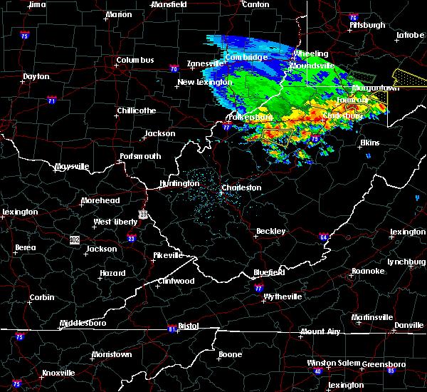 Radar Image for Severe Thunderstorms near Auburn, WV at 5/14/2018 3:45 PM EDT