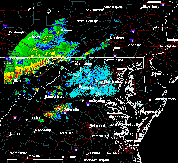 Radar Image for Severe Thunderstorms near Dawson, MD at 5/14/2018 4:16 PM EDT