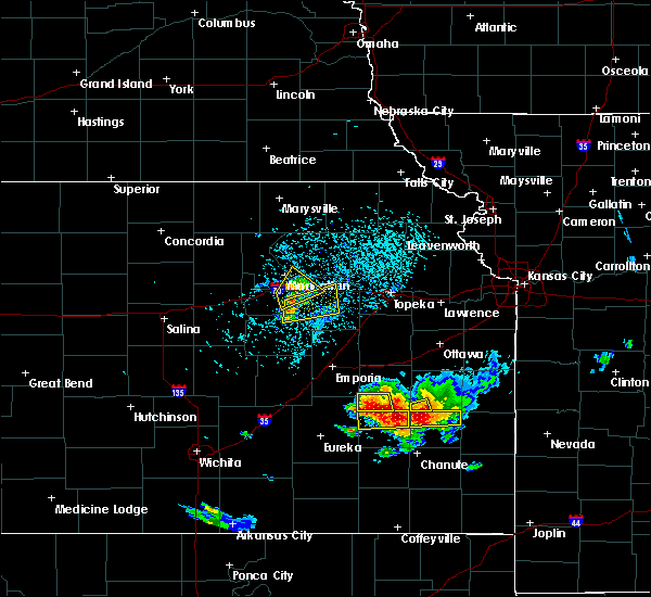 Radar Image for Severe Thunderstorms near Colony, KS at 5/14/2018 3:50 PM CDT