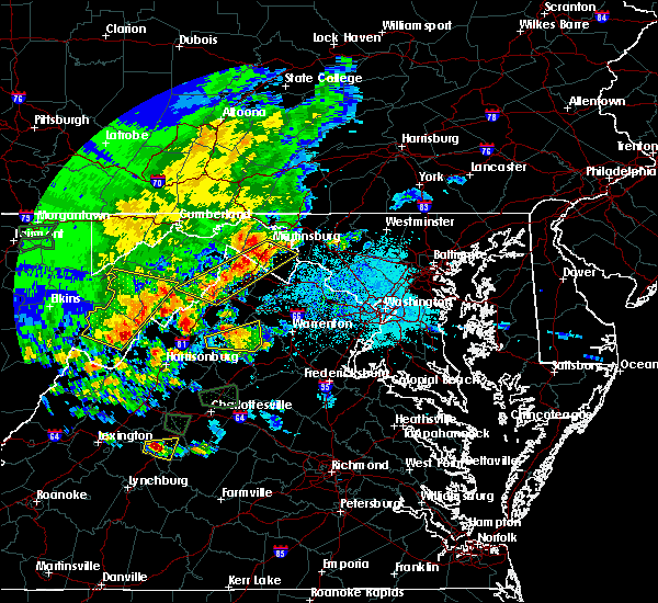 Radar Image for Severe Thunderstorms near Antietam, MD at 5/14/2018 5:16 PM EDT