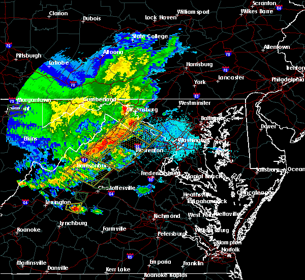 Radar Image for Severe Thunderstorms near The Plains, VA at 5/14/2018 5:38 PM EDT