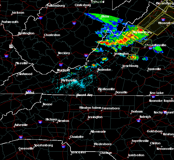 Radar Image for Severe Thunderstorms near Arrington, VA at 5/14/2018 5:41 PM EDT