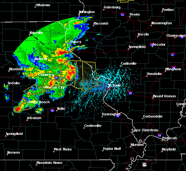 Radar Image for Severe Thunderstorms near Clarksville, MO at 5/14/2018 4:57 PM CDT