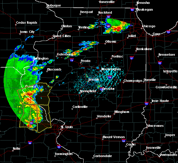 Radar Image for Severe Thunderstorms near Quincy, IL at 5/14/2018 5:20 PM CDT