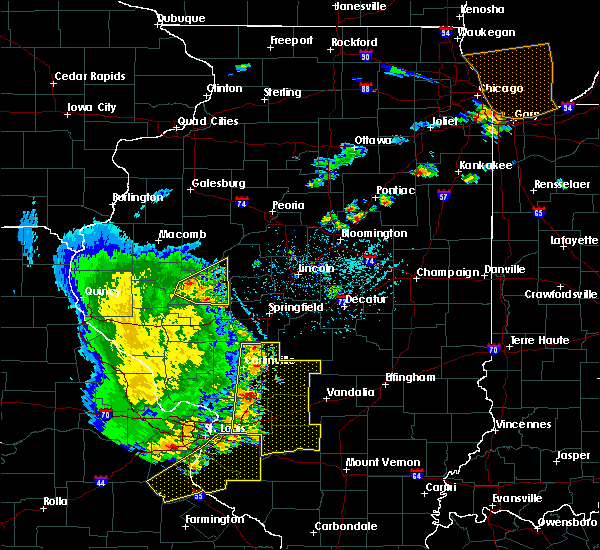 Radar Image for Severe Thunderstorms near Havana, IL at 5/14/2018 6:52 PM CDT