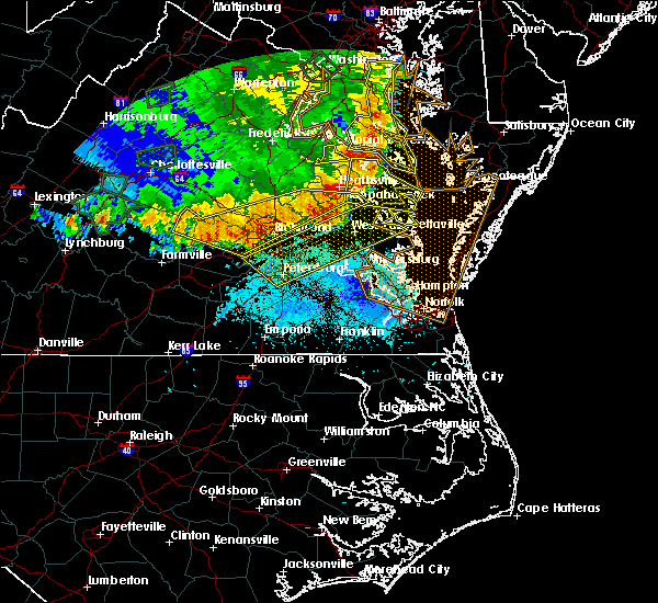 Radar Image for Severe Thunderstorms near Central Garage, VA at 5/14/2018 7:59 PM EDT