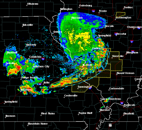 Radar Image for Severe Thunderstorms near Old Ripley, IL at 5/14/2018 7:19 PM CDT