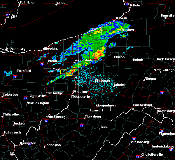 Radar Image for Severe Thunderstorms near Calcutta, OH at 5/15/2018 11:31 AM EDT