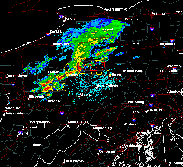 Radar Image for Severe Thunderstorms near St. Marys, PA at 5/15/2018 12:52 PM EDT