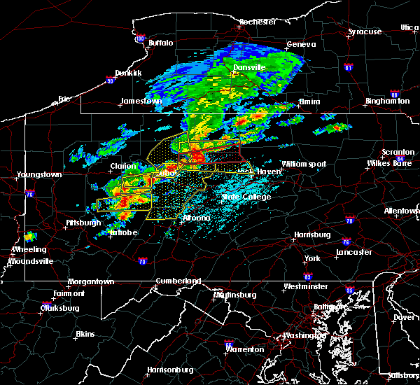 Radar Image for Severe Thunderstorms near Smicksburg, PA at 5/15/2018 1:04 PM EDT