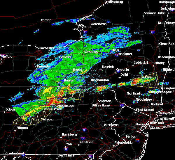 Radar Image for Severe Thunderstorms near Wyalusing, PA at 5/15/2018 1:59 PM EDT