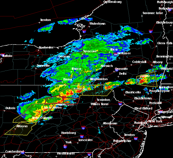Radar Image for Severe Thunderstorms near Wyalusing, PA at 5/15/2018 2:17 PM EDT