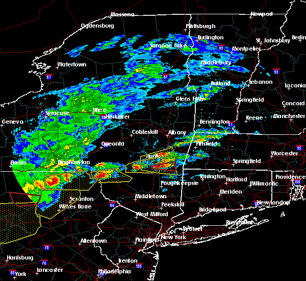 Radar Image for Severe Thunderstorms near Saugerties, NY at 5/15/2018 2:35 PM EDT