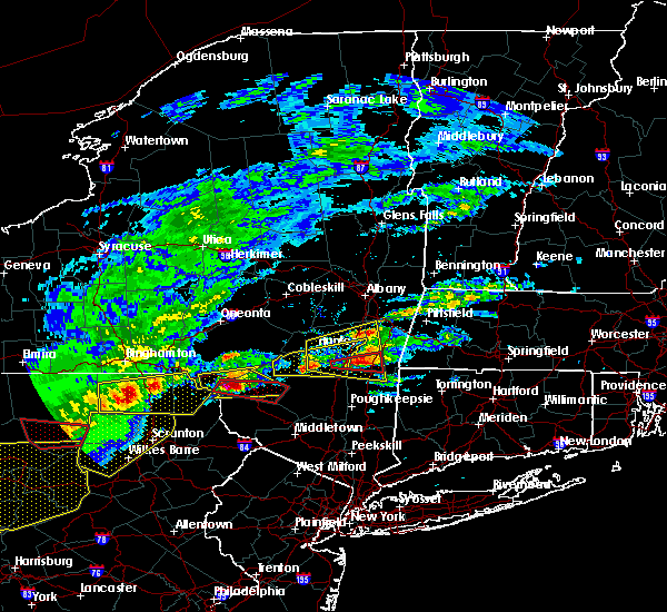 Radar Image for Severe Thunderstorms near Livingston Manor, NY at 5/15/2018 2:39 PM EDT