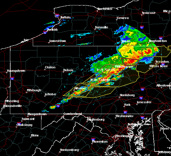 Radar Image for Severe Thunderstorms near Longfellow, PA at 5/15/2018 2:39 PM EDT