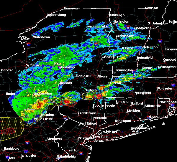 Radar Image for Severe Thunderstorms near Livingston Manor, NY at 5/15/2018 2:48 PM EDT
