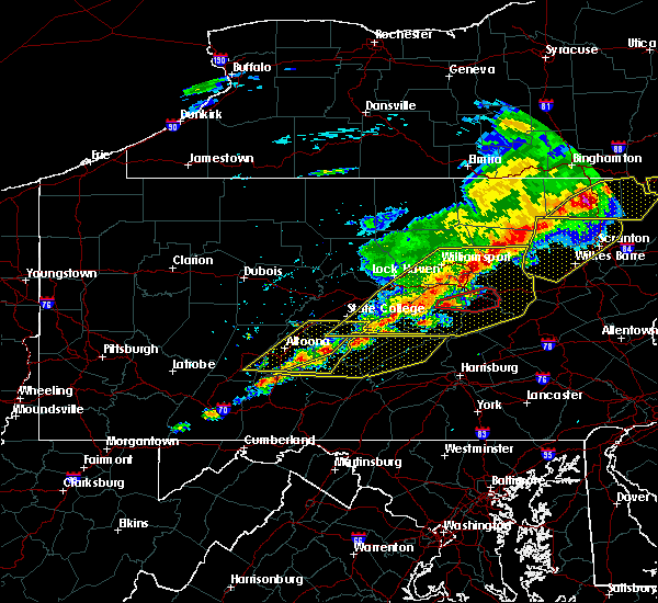 Radar Image for Severe Thunderstorms near Mifflinburg, PA at 5/15/2018 2:49 PM EDT