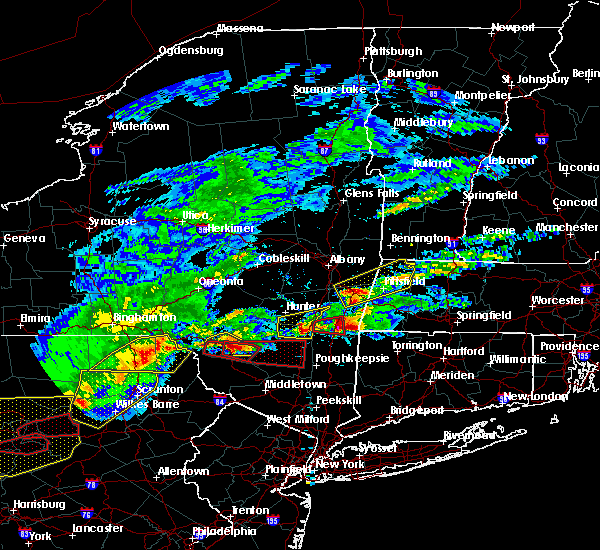Radar Image for Severe Thunderstorms near Livingston Manor, NY at 5/15/2018 2:58 PM EDT