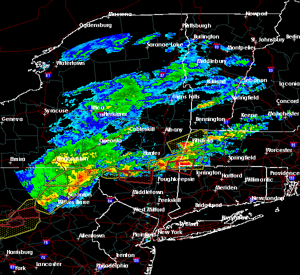 Radar Image for Severe Thunderstorms near Kingston, NY at 5/15/2018 3:10 PM EDT
