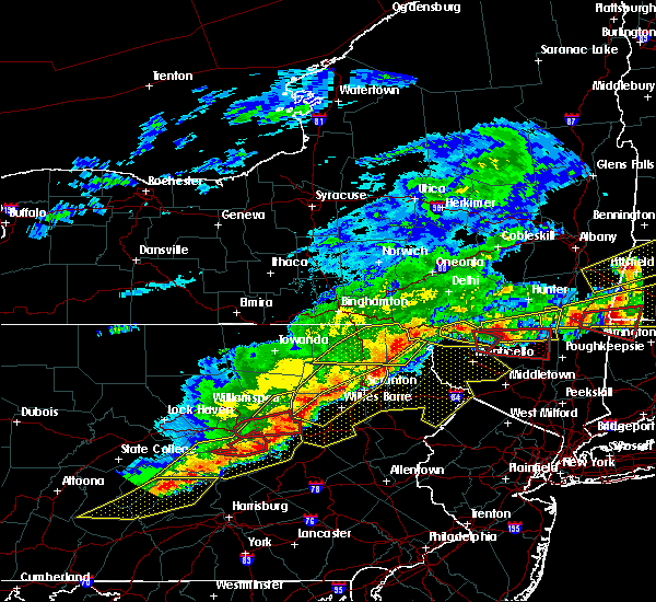 Radar Image for Severe Thunderstorms near Sugar Notch, PA at 5/15/2018 3:11 PM EDT