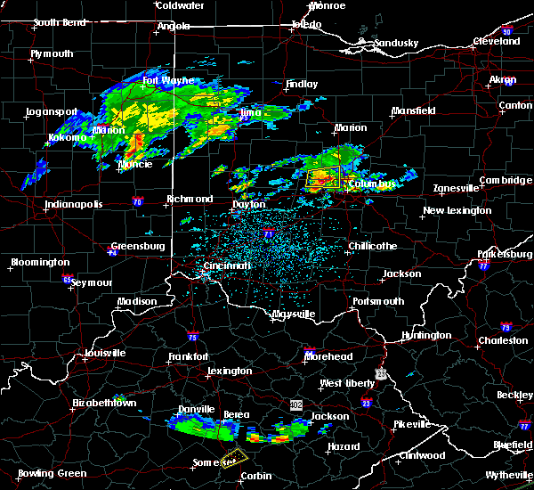 Radar Image for Severe Thunderstorms near Dublin, OH at 5/15/2018 3:32 PM EDT