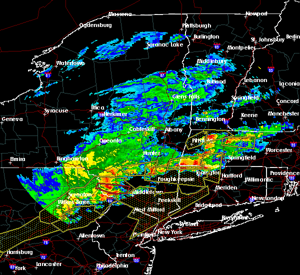 Radar Image for Severe Thunderstorms near Kingston, NY at 5/15/2018 3:38 PM EDT