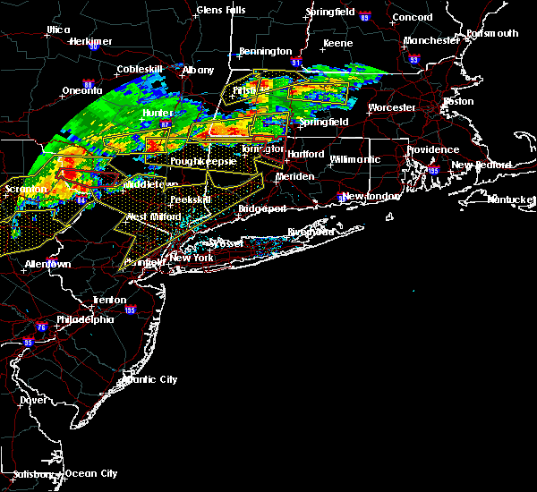 Radar Image for Severe Thunderstorms near Fanwood, NJ at 5/15/2018 3:38 PM EDT