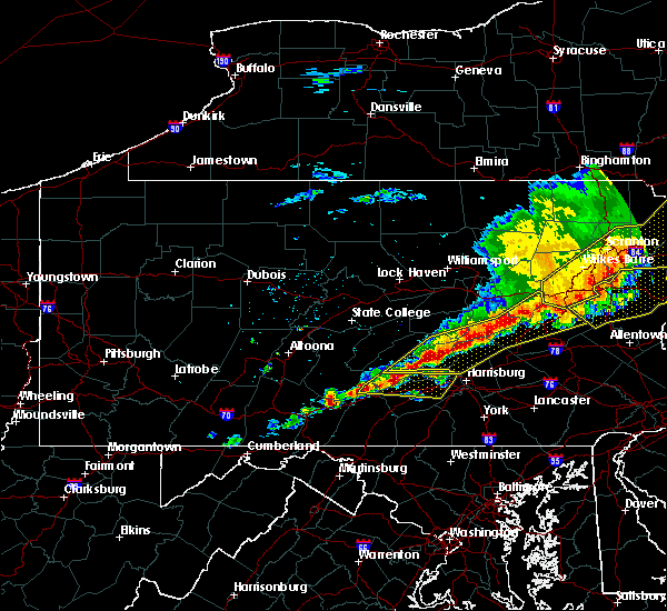 Radar Image for Severe Thunderstorms near Carlisle, PA at 5/15/2018 3:39 PM EDT