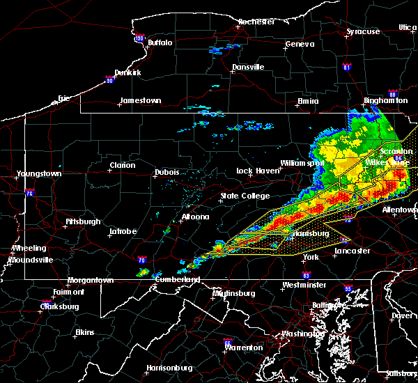 Radar Image for Severe Thunderstorms near Hopeland, PA at 5/15/2018 3:48 PM EDT
