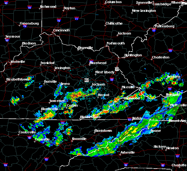 Radar Image for Severe Thunderstorms near Oneida, KY at 5/15/2018 4:32 PM EDT