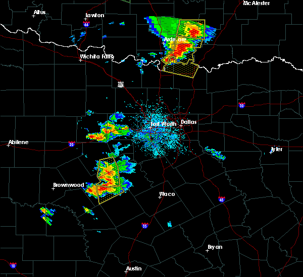 Radar Image for Severe Thunderstorms near Sadler, TX at 5/15/2018 3:39 PM CDT