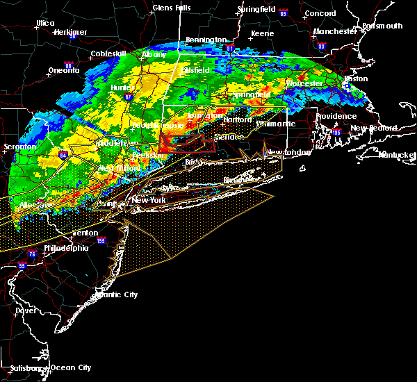 Radar Image for Severe Thunderstorms near Lincolndale, NY at 5/15/2018 4:54 PM EDT