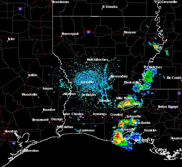 Opelousas Louisiana Map.Interactive Hail Maps Hail Map For Opelousas La