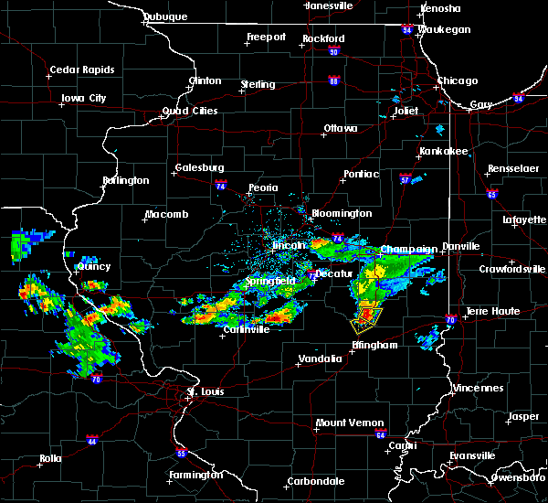 Radar Image for Severe Thunderstorms near Charleston, IL at 5/15/2018 4:59 PM CDT