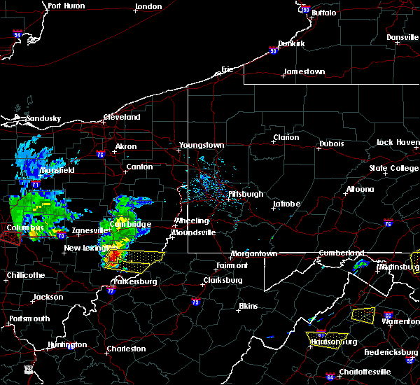 Radar Image for Severe Thunderstorms near Sardis, OH at 5/15/2018 6:21 PM EDT