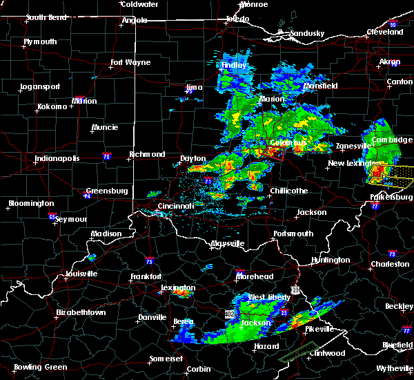 Radar Image for Severe Thunderstorms near Obetz, OH at 5/15/2018 6:24 PM EDT