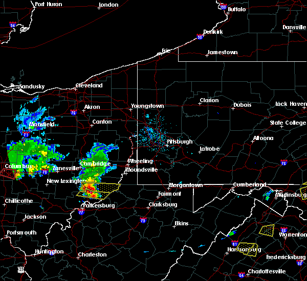 Radar Image for Severe Thunderstorms near Sardis, OH at 5/15/2018 6:34 PM EDT