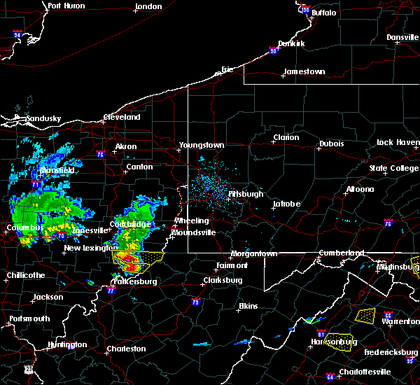Radar Image for Severe Thunderstorms near Matamoras, OH at 5/15/2018 6:38 PM EDT