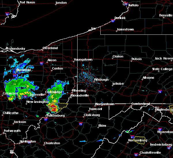 Radar Image for Severe Thunderstorms near Sardis, OH at 5/15/2018 6:41 PM EDT