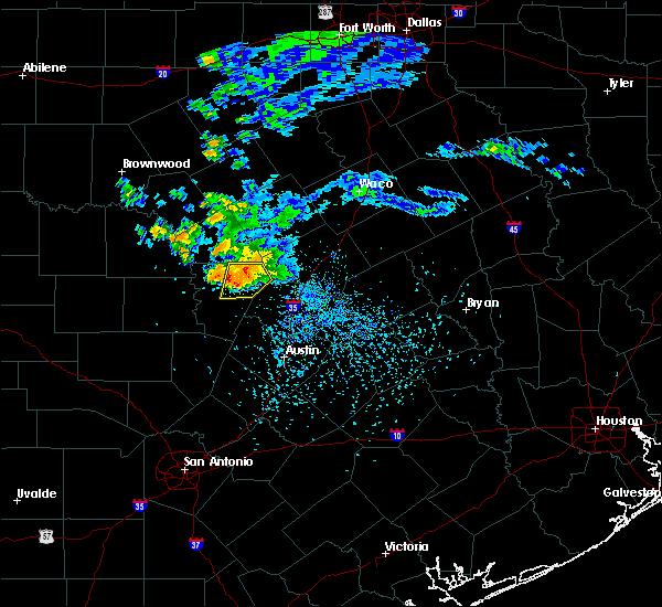 Radar Image for Severe Thunderstorms near Burnet, TX at 5/15/2018 5:47 PM CDT