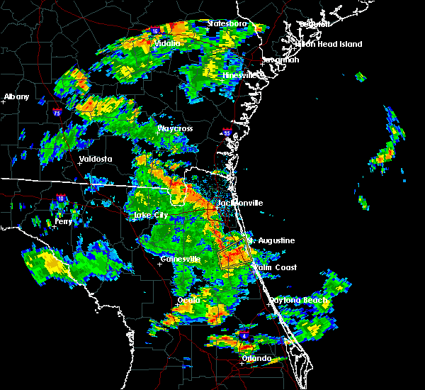Radar Image for Severe Thunderstorms near Flagler Estates, FL at 5/16/2018 4:34 PM EDT