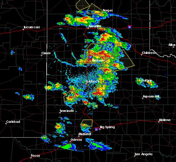 Radar Image for Severe Thunderstorms near Slaton, TX at 5/17/2018 5:39 PM CDT