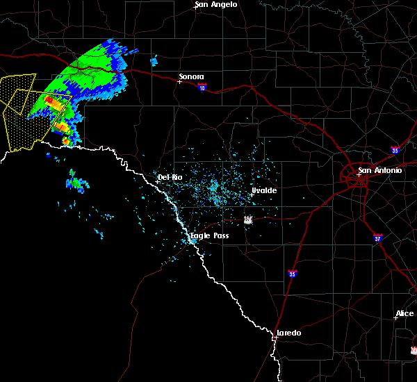 Radar Image for Severe Thunderstorms near Sanderson, TX at 5/17/2018 5:46 PM CDT