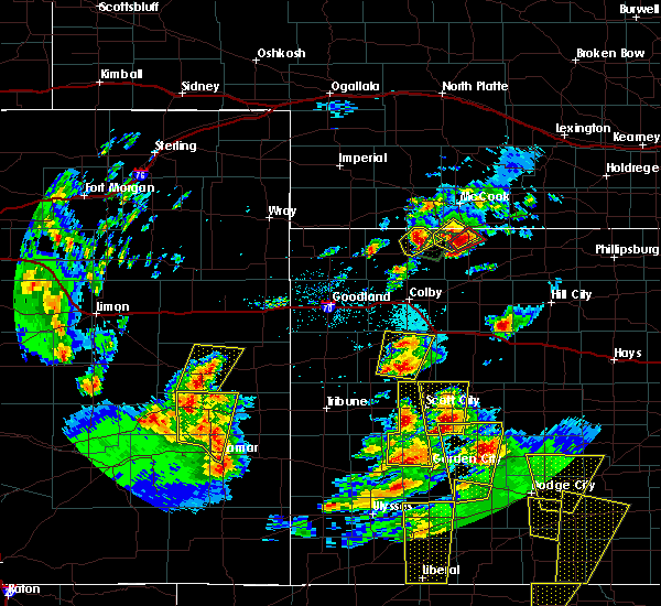 Radar Image for Severe Thunderstorms near Russell Springs, KS at 5/18/2018 7:44 PM CDT