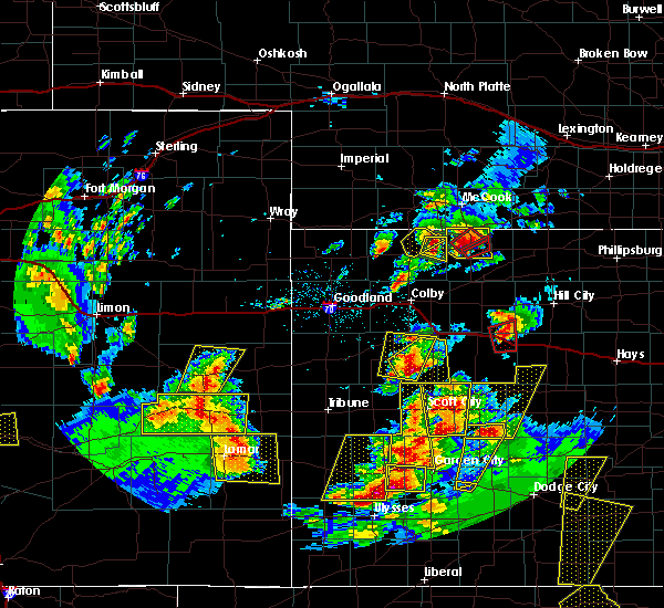 Radar Image for Severe Thunderstorms near Oberlin, KS at 5/18/2018 8:00 PM CDT