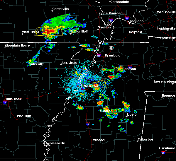 Radar Image for Severe Thunderstorms near Memphis, TN at 5/19/2018 1:30 PM CDT
