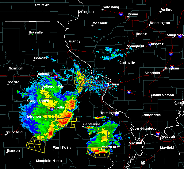 Radar Image for Severe Thunderstorms near Bunker, MO at 5/19/2018 2:24 PM CDT