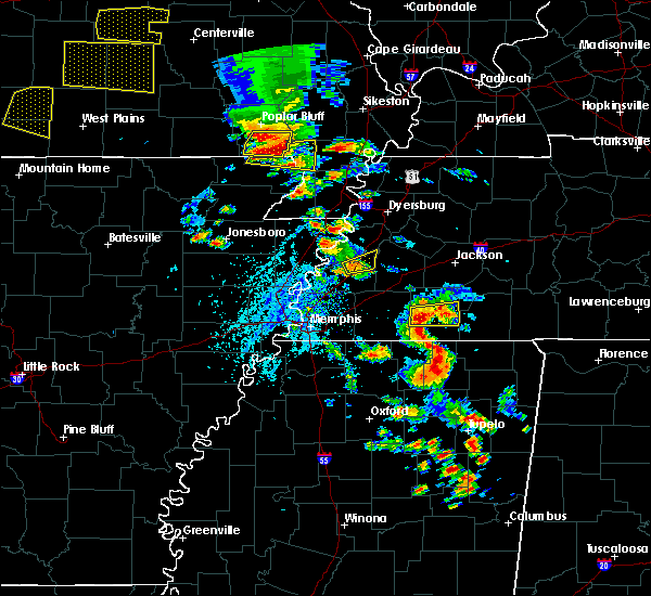 Radar Image for Severe Thunderstorms near McDougal, AR at 5/19/2018 2:43 PM CDT